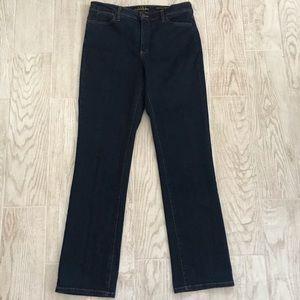NWOT NYDJ tummy tuck jeans dark wash size 14